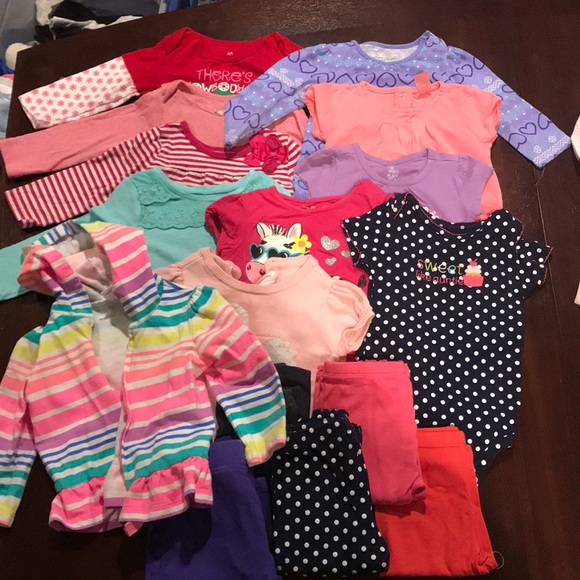 Other Lot Of Baby Girl Clothes Size 912 Months Poshmark